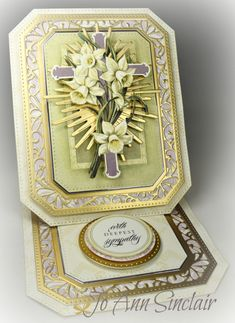 Love the layout on this card but still not crazy about easel cards