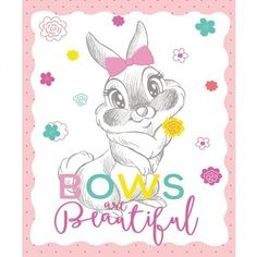 Miss Bunny Bows Disney Fabric Panel Sew Over It Patterns, New Look Patterns, Simplicity Patterns, Sewing Patterns, Miss Bunny, Christmas Fabric Crafts, Disney Fabric, Halloween Fabric, Fabric Gifts