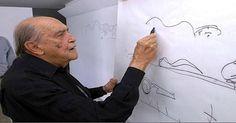 """Niemeyer... Mestre! Muitos arquitetos fizeram história ao redor do mundo com suas criações deslumbrantes, mas poucos registraram seus nomes no rol dos """"fantásticos e monumentais"""", como o brasileiro Oscar Niemeyer. #posgraduaçãoNEWS #arquitetura #faculdaderedentor"""