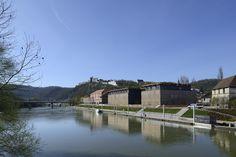 Besançon Art Center and Cité de la Musique - architect Kengo Kuma Kengo Kuma, Seiji Ozawa, Exhibition Room, Water Pond, Music School, World Heritage Sites, Architecture, Facade, Exterior
