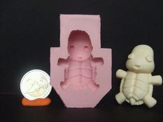 Kawaii Chibi Baby Turtle Flexible Silicone by WayneAlrightDesigns, Baby Turtles, Kawaii Chibi, Cool Stuff, Stuff To Buy, Clay, Small Businesses, Handmade Gifts, Passion, Character