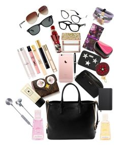 """""""WHAT'S IN MY BAG AUTUMN 2017 EDITION"""" by andreamartin24601 on Polyvore featuring Tom Ford, i.am+, Topshop, Yves Saint Laurent, STELLA McCARTNEY, Henri Bendel, Shinola, Sephora Collection, Ted Baker and Burberry"""