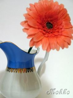 Gerbera from polymer clay