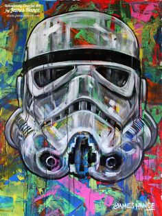 Star Wars - Storm Trooper by James Hance *