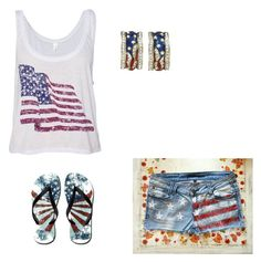 """What of July"" by showlifejaime ❤ liked on Polyvore"