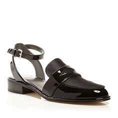 4_Stuart Weitzman Ankle Strap Oxford Flats - Collegiate ($297.50 usd)   Be Daze Live