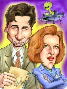 the x files: david duchovny and gillian anderson
