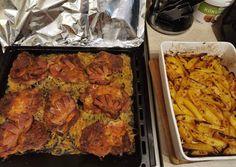 Tandoori Chicken, Meat, Baking, Ethnic Recipes, Food, Red Peppers, Bakken, Eten, Bread