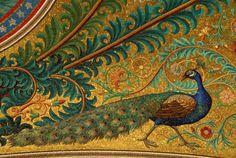 Les mosaïques - Site officiel de la Basilique Notre-Dame de la Garde Marseille Mosaic Birds, Mosaic Art, Decoration, Art Decor, Mosaic Tile Designs, Motifs Animal, Mosaic Madness, Mediterranean Design, Kiesel