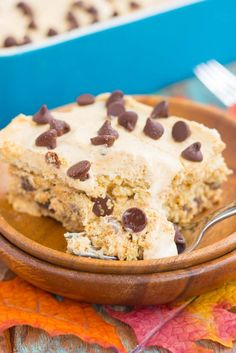 This {No-Bake} Pumpkin Chocolate Chip Icebox Cake is an easy fall dessert that's…