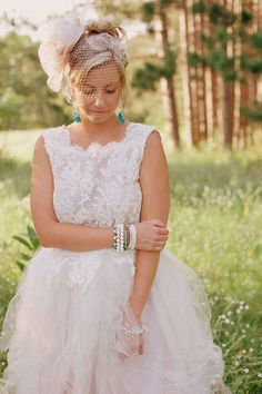 Two-Piece Dress | 50 Dreamy Wedding Dresses You'll Fall In Love With