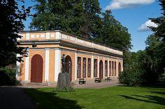 Orangeriet,  Leufsta bruks herrgård | The orangery at Leuftsa bruks mansion.