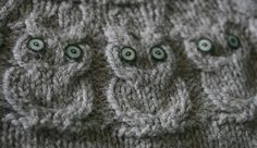 Owls. The pattern.