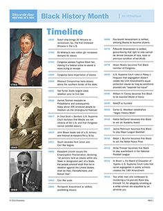 1000 images about black history month on pinterest for American history trivia facts