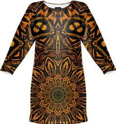 Golden Mandala from Print All Over Me