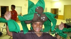 Coconut Tree Costume: I made this coconut tree costume for my daughter. She loved it. She got so many compliments on this costume. And I had a lot of fun making it too.   I