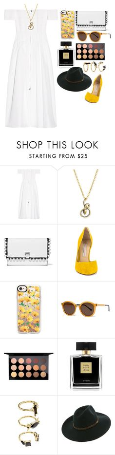"""Untitled #923"" by hela-ba ❤ liked on Polyvore featuring Fendi, Albert Malky, Proenza Schouler, Kristin Cavallari, Casetify, Thierry Lasry, MAC Cosmetics, Avon, Noir Jewelry and Billabong"
