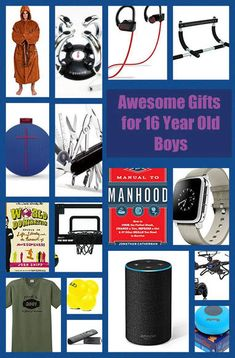19 Amazing Christmas and Birthday Gifts Ideas for 16 Year Old Boys 16 Year Old Christmas Gifts, Teenage Boy Christmas Gifts, Christmas Shopping, Christmas Ideas, Xmas, Birthday Gifts For Teens, Birthday Gifts For Boyfriend, Boyfriend Gifts, Birthday Presents