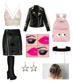 """Untitled #114"" by cazacubianca on Polyvore featuring Zoe Karssen, WithChic, Anya Hindmarch and Diane Kordas"