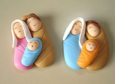 STEP BY STEP SUGAR PASTE... nativity scene christmas