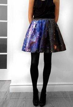 About 6 inches too short for me, but uber cute! These are printed with real images from the Hubble Telescope!