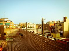 Tranquil terrace in Barcelona