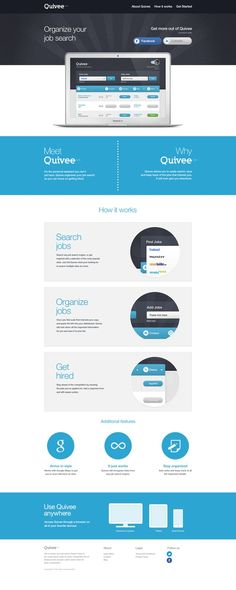 Simple and nice #Webdesign