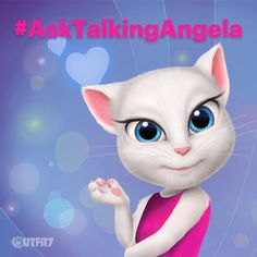 I'm preparing something really special! A new video, in which I'm answering your questions! Post them in comments with #AskTalkingAngela and I will choose a few for my video! Can't wait! xo, Talking Angela #TalkingAngela #MyTalkingAngela #LittleKitties