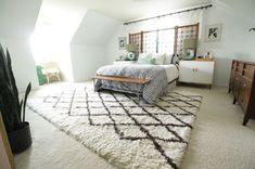 Modern Bohemian Master Bedroom Reveal by Ace Blogger @primitiveproper