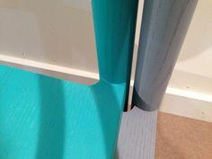 Joint detail. 2 round-corner chair