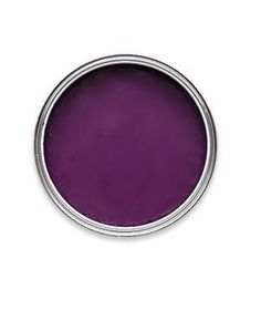 """From lavender to plum, the range of this color is as wide as its appeal.    Pelt 254*  """"Serious drama. Great with moss green or lipstick red accents,"""" farrow-ball.com."""