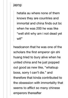 I LOVE IT WHEN PEOPLE PUT REAL HISTORY INTO HETALIA JUST YES BLESS YOU