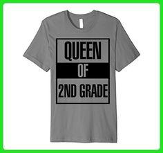 Mens Retro Vintage 2nd Grade Funny School Gift T-Shirt Medium Slate - Retro shirts (*Amazon Partner-Link)