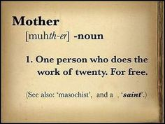 Mother (noun)