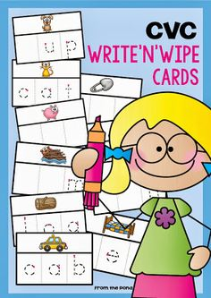 """CVC """"Write and Wipe"""" (from Frog Spot)"""