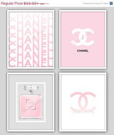 SALE Wall Decor Print - Chanel - Chanel Print - Modern Home Decor - Chanel Perfume - Home Decor - COCO Chanel