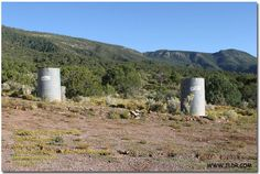 His and Hers Outhouses at Old Kelly Mine Church    Photo courtesy of Brad Welton