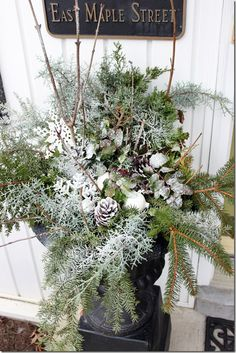 Christmas-Outdoor Decorations on Pinterest