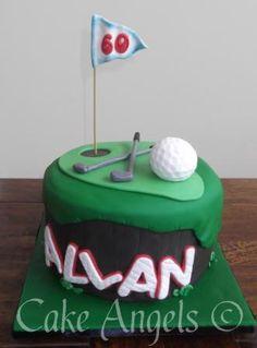 Golf Cake for Allan's 60th Birthday
