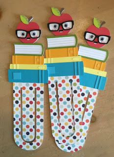 Nerdy Apple, Book Worm Couple and Bookmarks 1