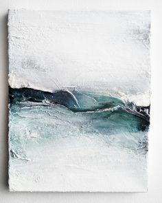 Abstract Art: looks like ocean waves