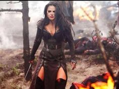 Evil Queen....Lana Parrilla! Well, photoshopped lana. But this is a GOOD photoshop!