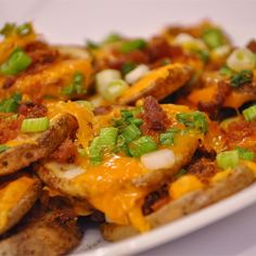 """Cheese and Bacon Potato Rounds I """"These were the best! They were easy to make and probably would be a great little recipe for a party appetizer! We loved them!"""""""