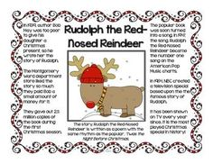 Christmas Informational Text Posters and... by Kathy Ryan | Teachers Pay Teachers