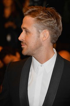 """Ryan Gosling Photos - Ryan Gosling attends the """"Lost River"""" premiere during the Annual Cannes Film Festival on May 2014 in Cannes, France. - 'Lost River' Premieres at Cannes Ryan Gosling Frisur, Ryan Gosling Haircut, Baby Boy Hairstyles, Pretty Hairstyles, Men's Hairstyle, Kevin Spacey, Christina Aguilera, Justin Timberlake, Sandra Bullock"""