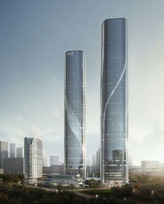 Shimao Hangzhou Twin Tower A - The Skyscraper Center