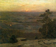 Charles Warren Eaton (1857-1937). Shawangunk Valley, c. 1900. Oil on Canvas.