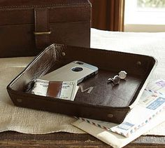 Saddle Leather Catchall