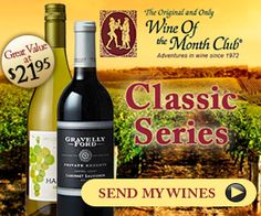 Are you a Wine Lover? Get the Classic Series Membership at Wine of the Month Club! Check it out NOW! http://www.shareasale.com/r.cfm?B=497290&U=1233420&M=47747&urllink=
