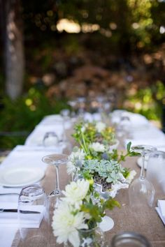 Sweet & Natural Malibu Wedding